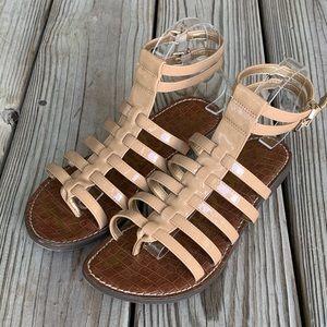 Sam Edelman Gilda gladiator sandals. Size 8.